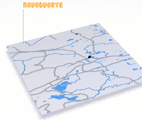 3d view of Novodvor\