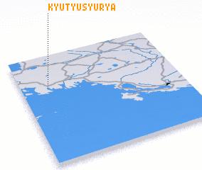 3d view of Kyutyusyur\