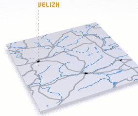3d view of Velizh