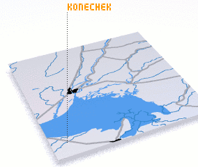 3d view of Konechëk