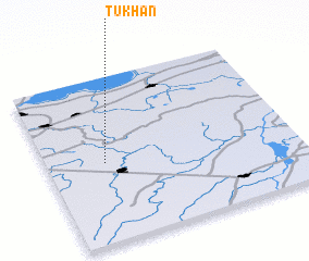 3d view of Tukhan\