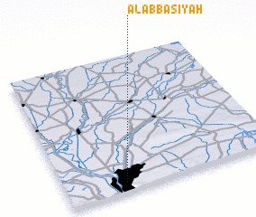 3d view of Al 'Abbāsīyah