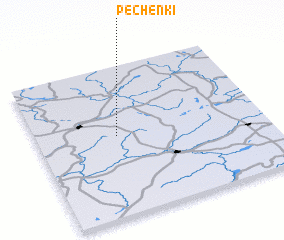 3d view of Pechënki