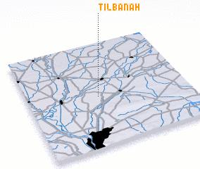 3d view of Tilbānah