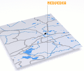 3d view of Medvedka
