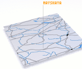 3d view of Mayskaya