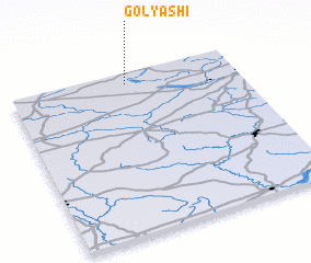 3d view of Golyashi