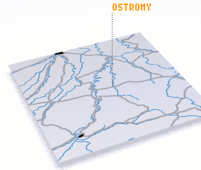 3d view of Ostromy