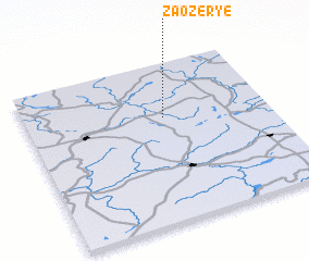 3d view of Zaozër\