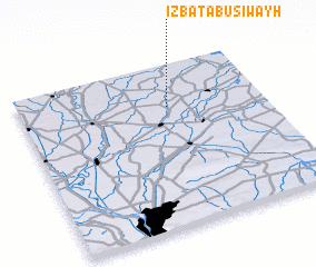 3d view of 'Izbat Abū Siwayḩ