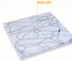 3d view of Nikulino
