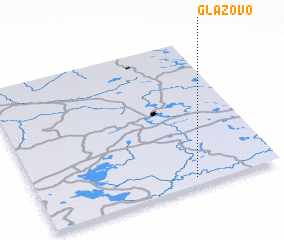 3d view of Glazovo