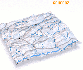 3d view of Gökçeöz
