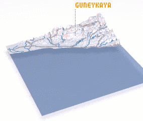 3d view of Güneykaya
