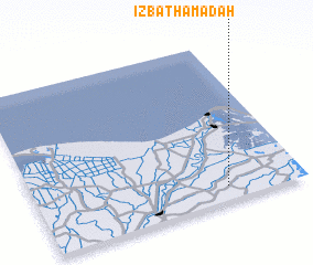 3d view of 'Izbat Ḩamādah