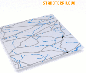 3d view of Staro-Terpilovo