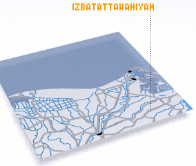 3d view of 'Izbat aţ Ţawāhīyah