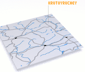 3d view of Krutoy Ruchey