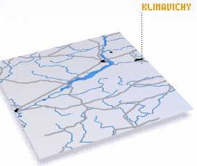 3d view of Klimavichy