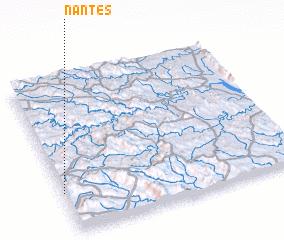 3d view of Nantes
