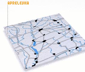 3d view of Aprelevka