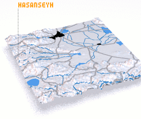 3d view of Hasanşeyh