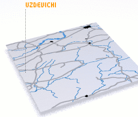 3d view of Uzdevichi