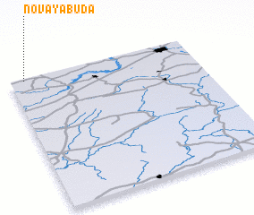 3d view of Novaya Buda