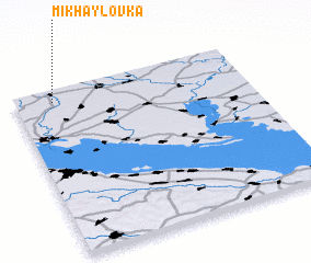 3d view of Mikhaylovka