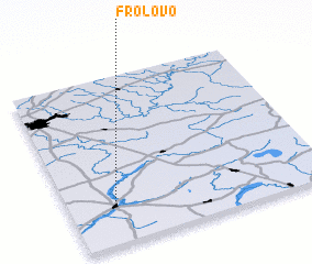 3d view of Frolovo
