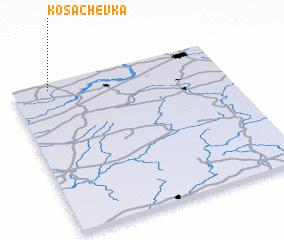 3d view of Kosachëvka