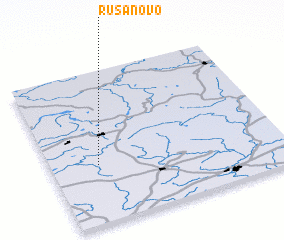3d view of Rusanovo
