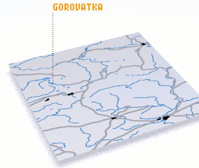 3d view of Gorovatka