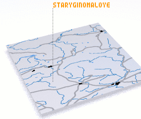 3d view of Starygino Maloye
