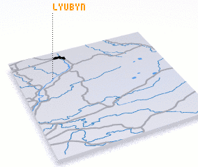 3d view of Lyubyn\