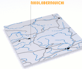 3d view of Nikolo-Bernovichi
