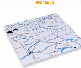 3d view of Krasnaya