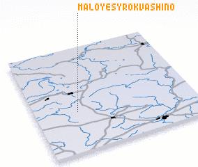 3d view of Maloye Syrokvashino