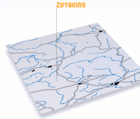 3d view of Zvyakino