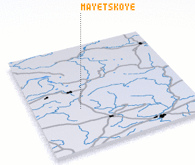 3d view of Mayetskoye