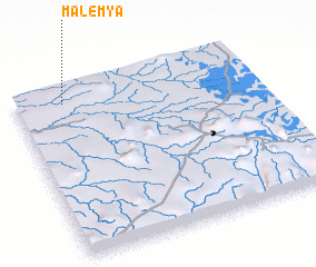 3d view of Malemya