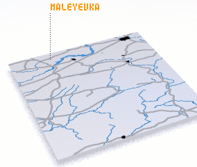 3d view of Maleyevka