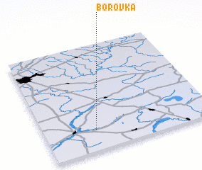3d view of Borovka