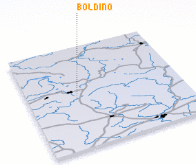 3d view of Boldino