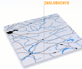3d view of Zagluboch\