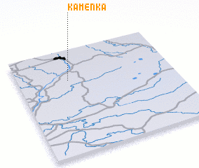 3d view of Kamenka