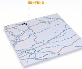 3d view of Kamenka