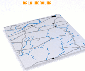 3d view of Balakhonovka