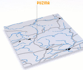 3d view of Puzina