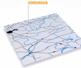 3d view of Kurdimova